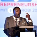 Akon, whose real name is Aliaune Badara Thiam, announced in Dakar he would become the majority shareholder in the service, describing Musik Bi as 'the platform of the future' | ©