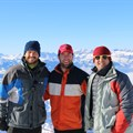 Go & Travel directors from left: Dale Barrow, Sam Bradley, Duane Stacey