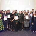 DFM award winners with awards partners
