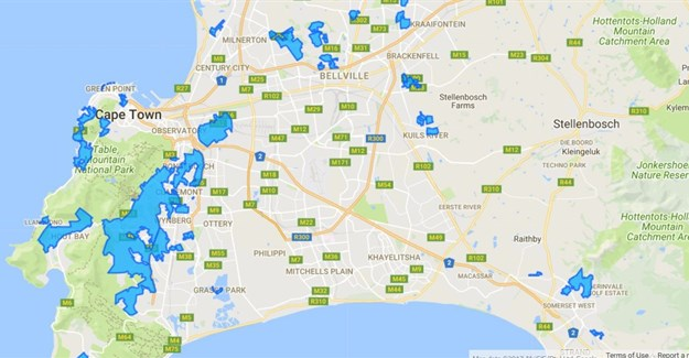 Unsure about fibre coverage in South Africa? This map will help