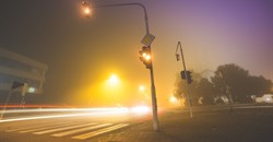 How to keep safe on the road in foggy conditions