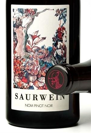 Nom Pinot noir by winemaker Jessica Saurwein