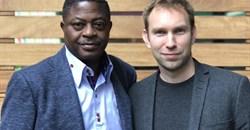Bisi Adegbuyi and Chris Sheldrick