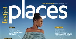 Places Magazine, August issue.