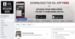 Facebook restores IOL's blocked content