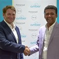 Dr Andrew Golding, Saleh Said at Zanzibar Amber Resort