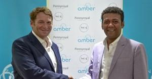Dr Andrew Golding, Saleh Said at Zanzibar Amber Resort