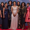 A scene from our red carpet gallery of the Standard Bank Top Women Awards.  for more!