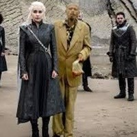 #Githeriman inserted into Game of Thrones in one of the memes that went viral.