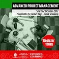Register for Advanced Project Management at UKZN Extended Learning and improve your project management expertise