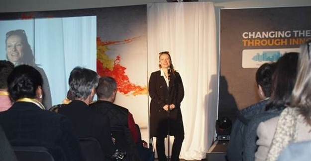 Adriana Marais, head of innovation at SAP and one of the volunteers to join the Mars One mission in 2025.