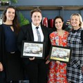 Elke van Vledder (Philips), Meanda Mills (Overall winner, and Easter category winner), Tessa Purden (Food24), Lucy Jones (Philips).