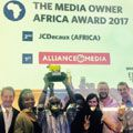 Alliance Media voted Best Media Owner Africa 2017 at South African media awards
