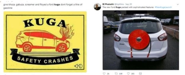 Ford Kuga - how to get burned a second time on social media