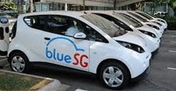 Electric car-sharing service to roll into Singapore