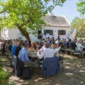 Speakers and delegates enjoy lunch at Spier (Image Supplied)