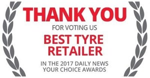 """Tiger Wheel & Tyre wins """"Best Tyre Shop in KZN"""" for 13th year running"""