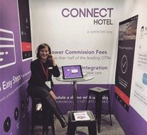 WeAreConnect, the Digital arm of MegaVision Media, exhibited at this years first ever Africa Hotel Show.