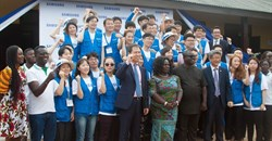 Samsung empowers Ghanaian girls with ICT skills