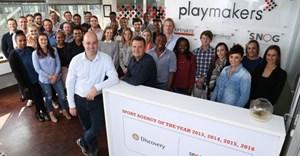 Playmakers win the Sponsorship Gold Award at the AMASA Awards