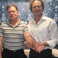 Stephanus van Wyk with Dr Conrad Pienaar