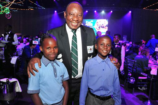 Deputy President goes back to school to raise funds for Adopt-a-School Foundation