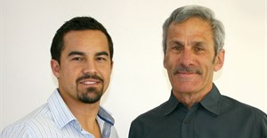 Phillip Oosthuizen and Dr. Piet Swiegers (Image Supplied)