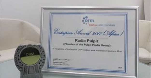 Radio Pulpit award.