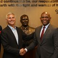 Tony Elumelu and Chris Nassetta at signing. (Image Supplied)