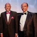 Carel van Heerden (Finbond); Sbu Shabalala (AdaptIT); Mark Stevens (Fortress Income Fund); Lesetja Kganyago (Business Leader of the Year); Patrice Motsepe (Lifetime Achievement Award) - image credit: Sunday Times.