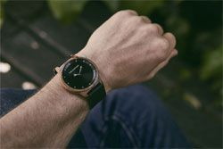Wood watches designed to stand out