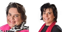 Tara and Tiffany Turkington, CEO and managing director at Flow Communications.