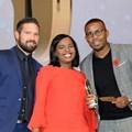 Justin van Alphen, portfolio manager NBD at Ads24; with Siphokazi Mestile, account manager; and Ntando Msibi, copywriter on all three Pendoring-winning spots.