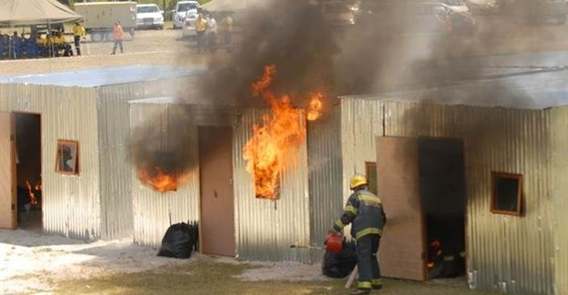 Could this magnesium oxide-based material help put an end to rampant shack fires?