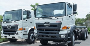 Hino 500 Wide Cab trucks now in local production
