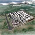 Artist's impression of the new liquid bulk terminal at the Port of Ngqura
