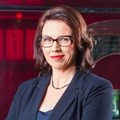 Sally Burdett makes a welcome return to the 8pm news bulletin