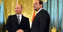 Russian president, Vladimir Putin, and his Egyptian counterpart, Abdel Fattah al-Sisi. Photo: Egypt Today