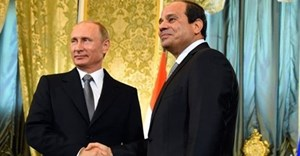 Russian president, Vladimir Putin, and his Egyptian counterpart, Abdel Fattah al-Sisi. Photo: Egypt Today