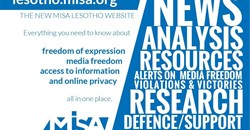 Promoting free speech in Lesotho