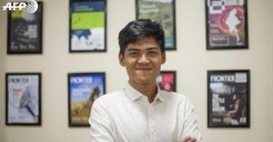 Reporter Mratt Kyaw Thu. Image provided.
