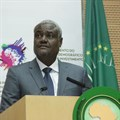Moussa Faki Mahamat, chairperson of the African Union Commission.
