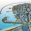 Artist impression of Colombo International Financial City