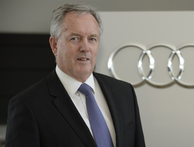 Trevor Hill, head of Audi South Africa