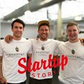 Michael Louis (co-founder and CTO), Michael-John Dippenaar (founder and CEO), and Henri Bam (co-founder and COO)