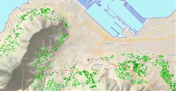 Cape Town's 'green' map reveals water usage per household