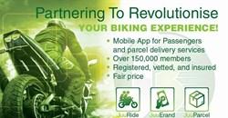 Boda Boda riders launch bike-hailing app
