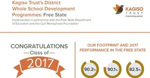 Kagiso Trust's legacy of excellence in Free State schools