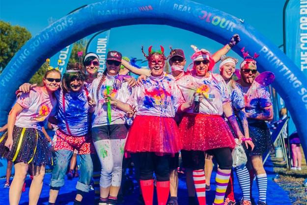Color Run South Africa's final superhero tour kicks off in Stellenbosch