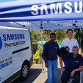 Samsung introduces mobile service vans